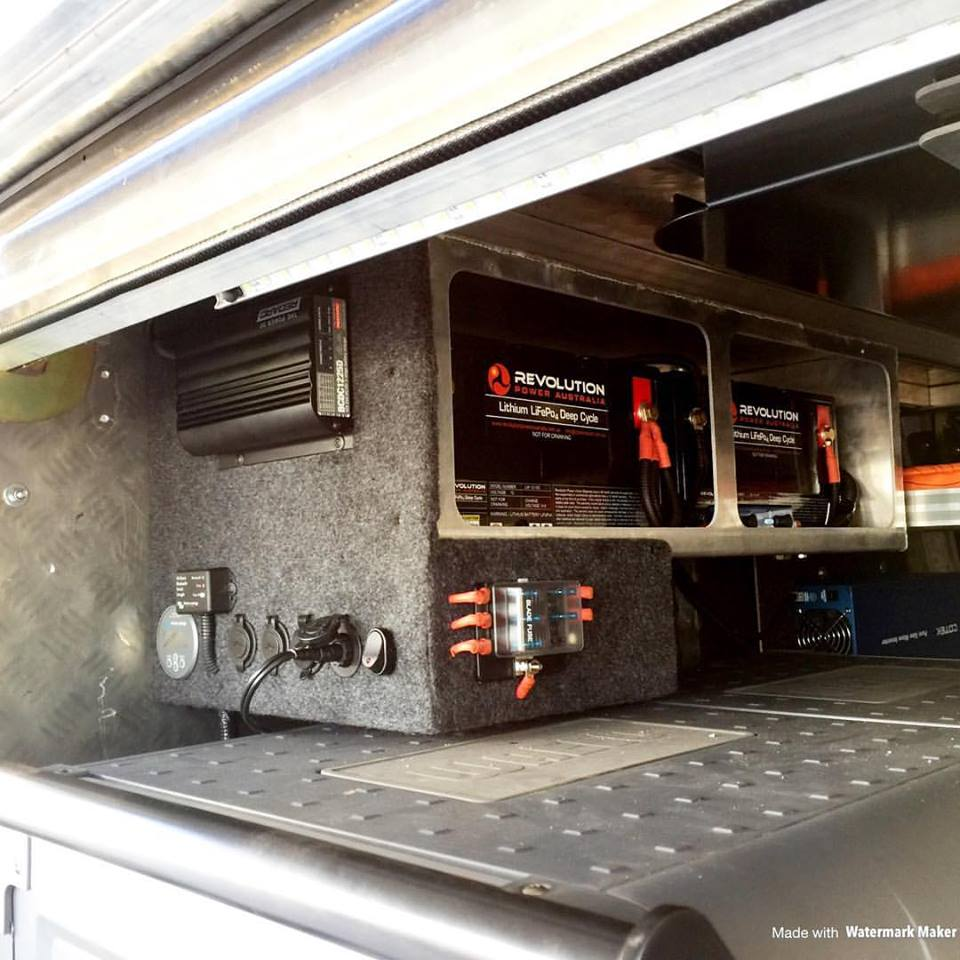 Twin Lithium Dual Battery System - Drover Camping & 4wd