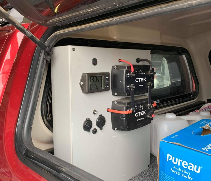 Canopy Fit Out Dual Battery System